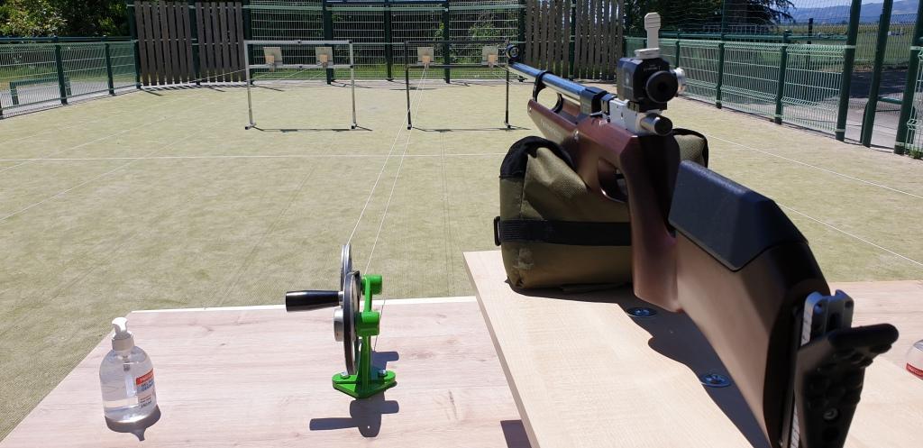 Découverte du tir à la carabine air comprimé à une distance de 10 mètres