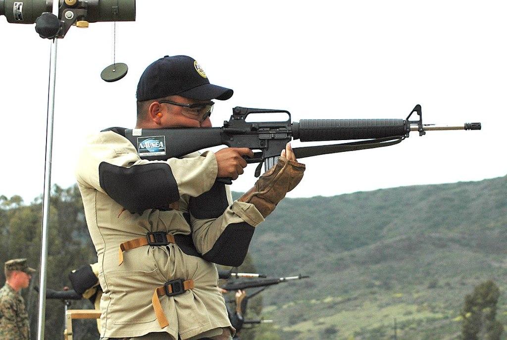 Service Rifle jusqu'à 600 mètres
